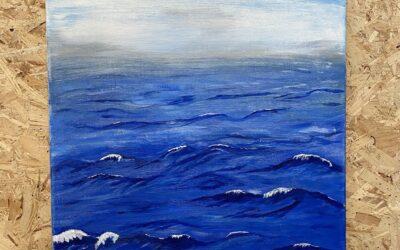 Bara hav Akryl 60×50 1500:-